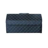 Car Trunk Box Storage Bag Organizer 54cm Length Multi use PU Leather Car Seat Back Organizers Interior Accessories