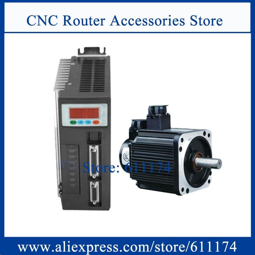 High quality 90ST M02430 AC servo motor 750W 2 4N M 24kgf cm 3000rpm AC Servo