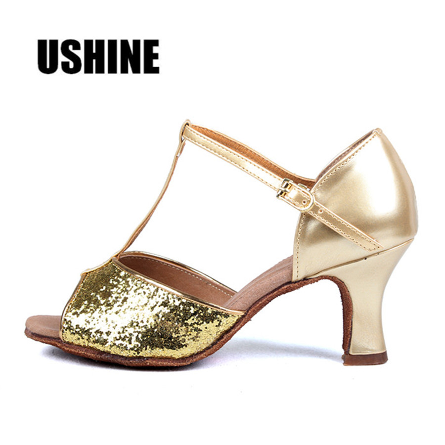 24b63127 PU tacón 7 cm/5 cm Zapatos De Baile Latino, Zapatos De Mujer Salsa Mujer  Zapatos De Baile Latino Mujer WZJ envío Gratis
