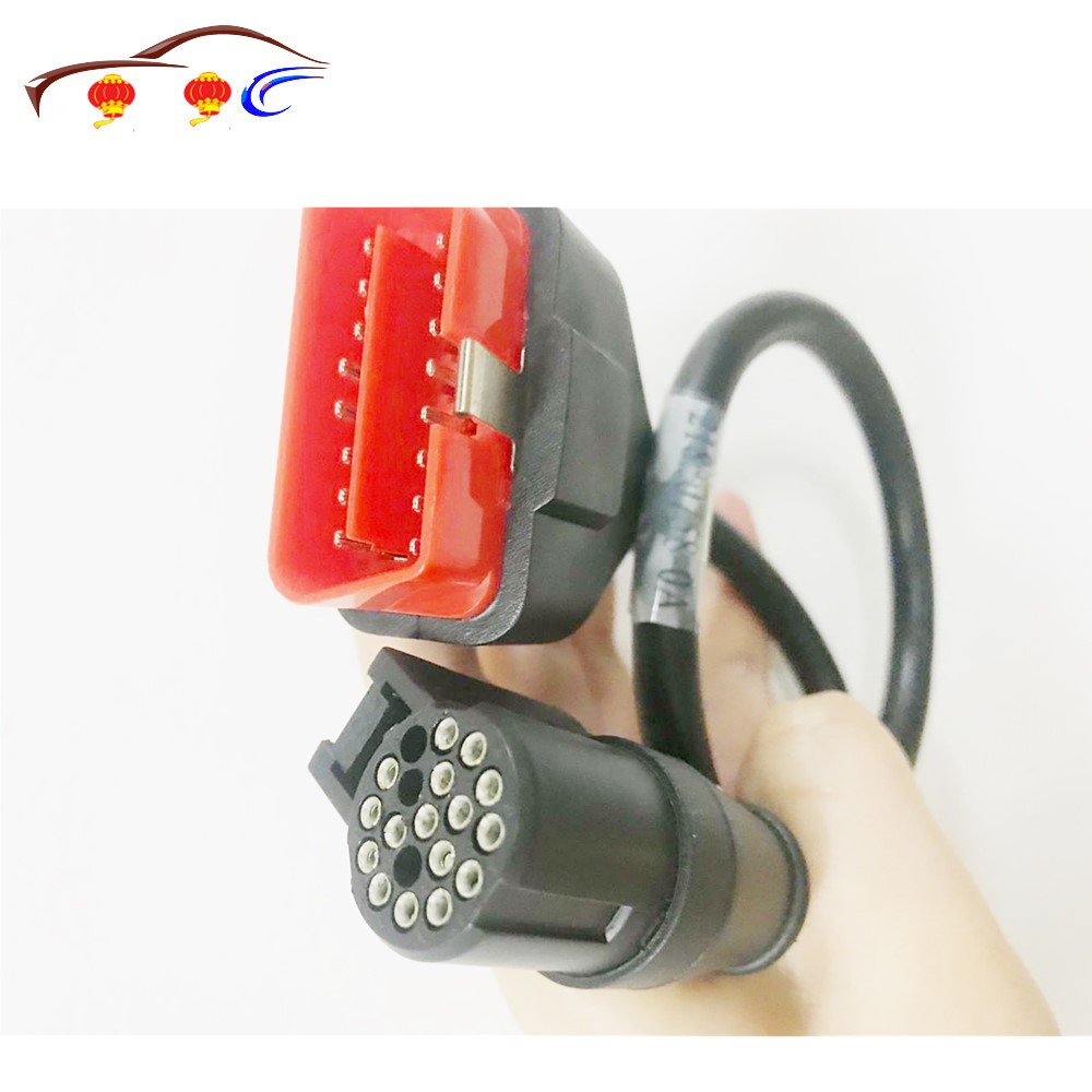 Hot Sale 100% Original Professional Factory Price Obd2 16pin Cable For Renault Can Clip Diagnostic Interface Drop Ship