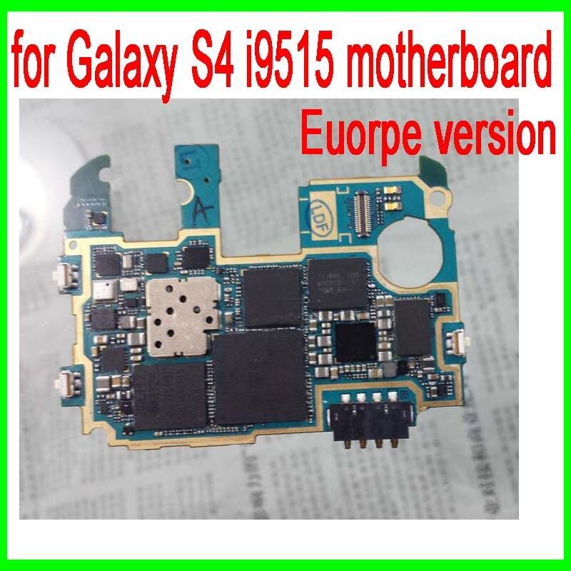imágenes para Abierto Original para Samsung Galaxy S4 i9515 Motherboard, Europa Versión de Galaxy S4 i9515 Placa Lógica con Chip, envío Gratis