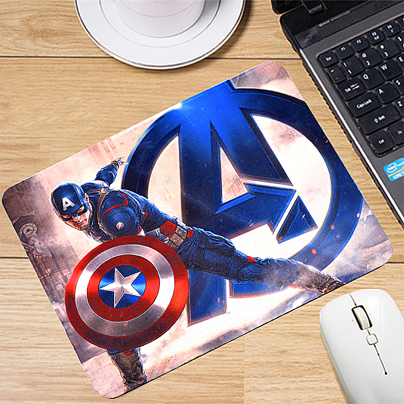 Iron Man Wireless Mouse Gaming Mouse Gamer Computer Mice Button Silent Click