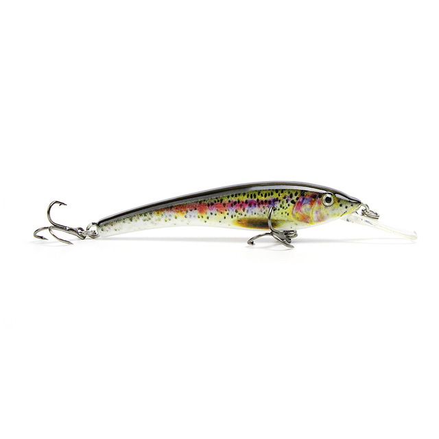 "3""/3.3g Popular Mini Minnow Fishing Lure Lifelike Fishing Bait Vivid Hard Fish Tackle Wobbler Pesca 5 Color Options Isca HML02"