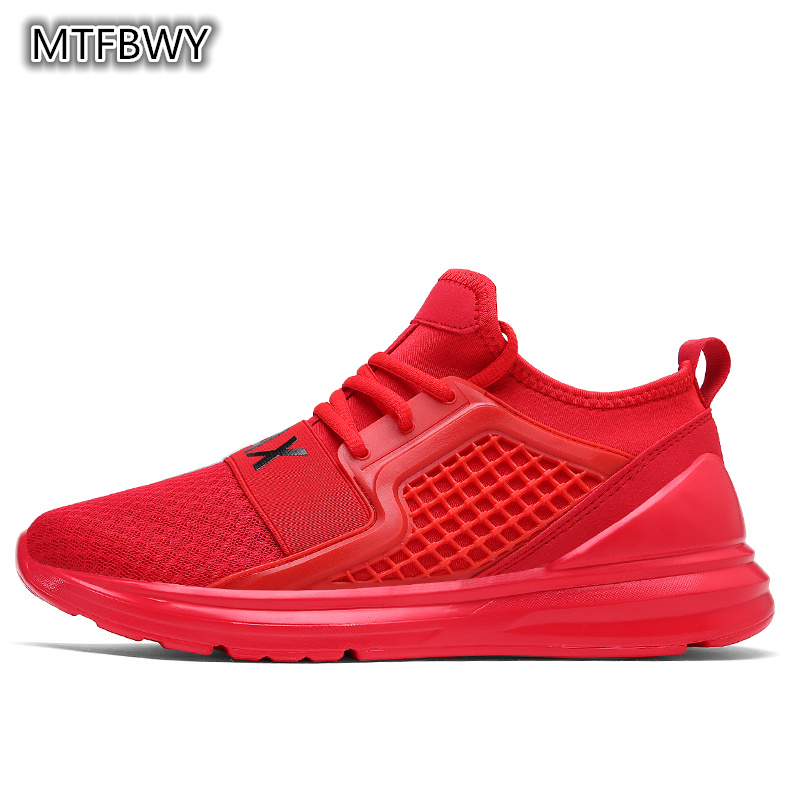 Mens running shoes new arrival mesh breathable sports shoes outdoor slip-on men sneakers size 39-44 7058s