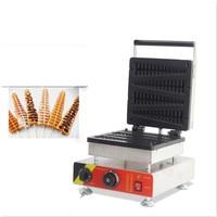110V 220V Non stick Commercial Electic Lolly Waffle Maker 4pcs Belgium Belgian Lolly Waffle Machine Iron Baker