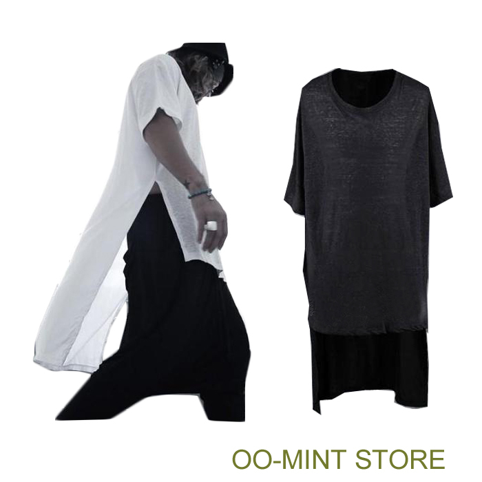 Long style high quality new brand design fashion tyga man for Best quality mens white t shirts