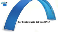 Replacement Top Headband Pad Cushions Repair Parts For Beats Studio Studio 1Gen Wired Wireless Over Ear