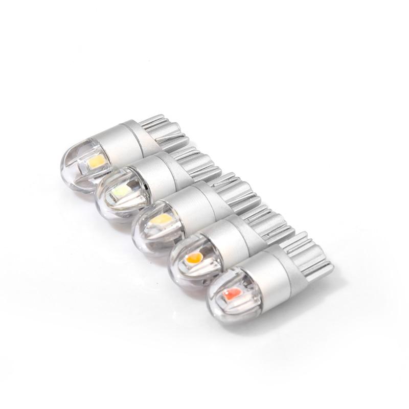 Meetrock 2 бр T10 LED светлина за кола SMD 3030 - Автомобилни светлини - Снимка 4