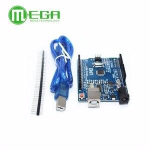 Image 2 - Neue 5 satz/los UNO R3 MEGA328P CH340G mit usb kabel (Kompatibel)
