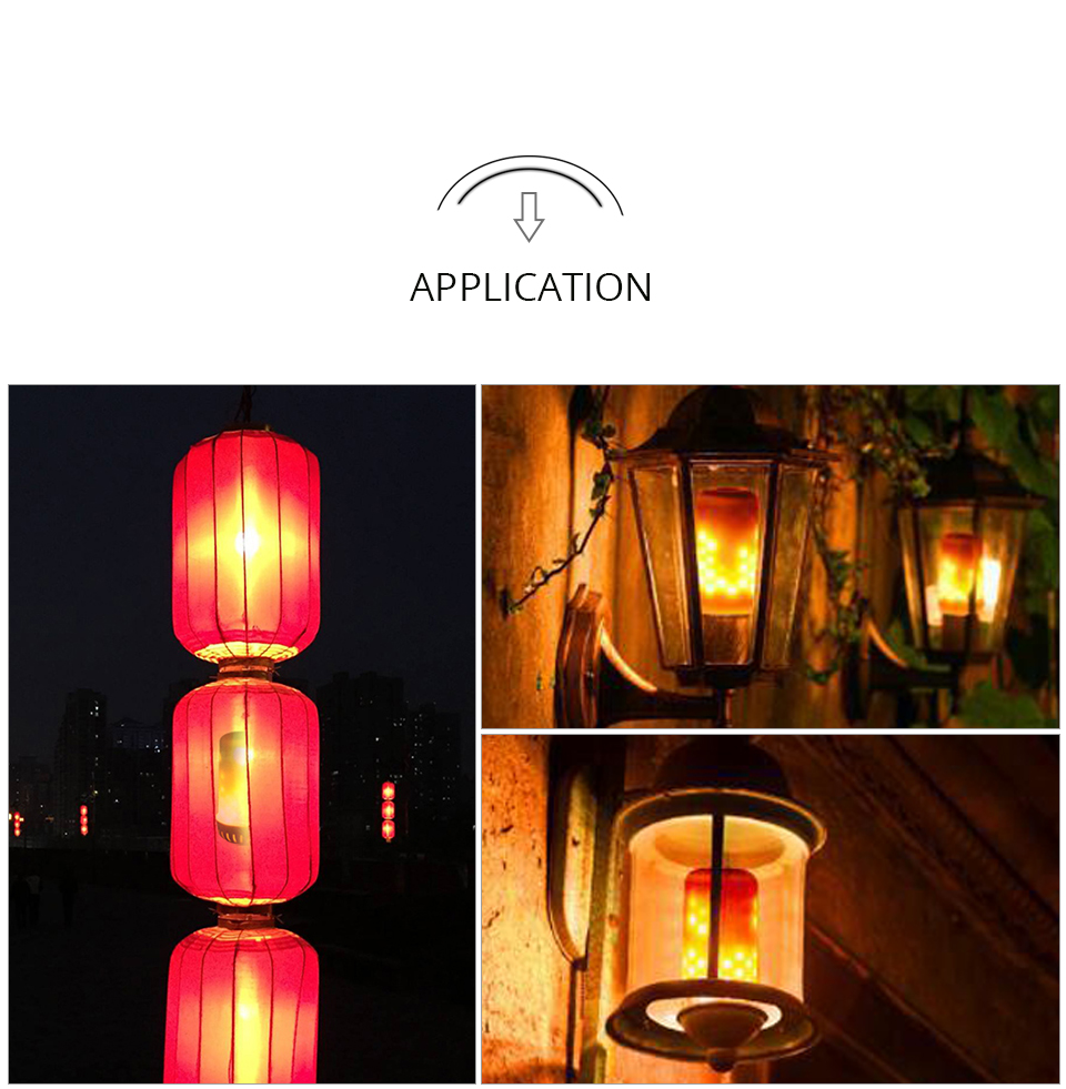 LED Flame lamps (9)