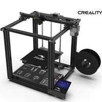 Ender-5 3D impresora de alta precisión placa base de gran tamaño Cmagnetic build plate, Power off Rev easy build Creality 3D ender 5
