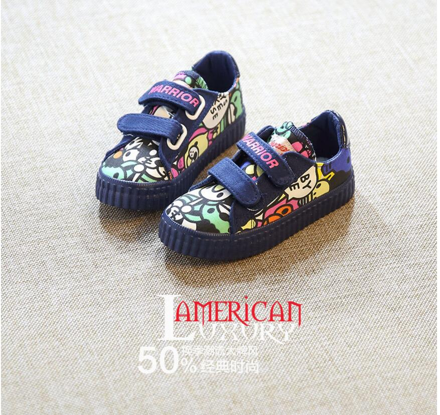 9b4c89dbc3fe ④Denim Jeans Boys Sneakers Kids Girls Shoes New 2018 Brand Autumn ...