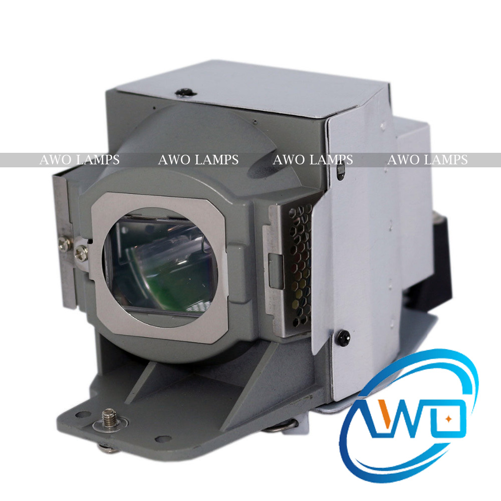 AWO 100% Original Projector Lamp 5J.J9E05.001 with Housing for BENQ Projector W1500 P-VIP240W Bulb Inside awo original projector lamp 20 01501 20 projector lamps p vip230w inside for smartboard 480i5 880i5 885i5 sb880 slr40wi uf75