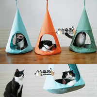 Йоркширский терьер Cat Гамак Висит Гнездо Кошка дышащий кровать домашних животных гнездо Французский бульдог Собака кровать