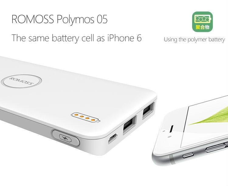 ROMOSS Polymos 05 Power Bank 5