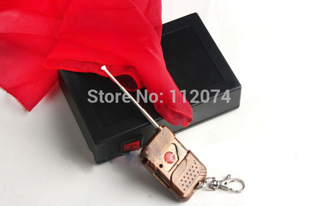 Remote flying Silk device,silk flight - Trick . Magic tricks,silk magic,stage,accessories,gimmick,comedy