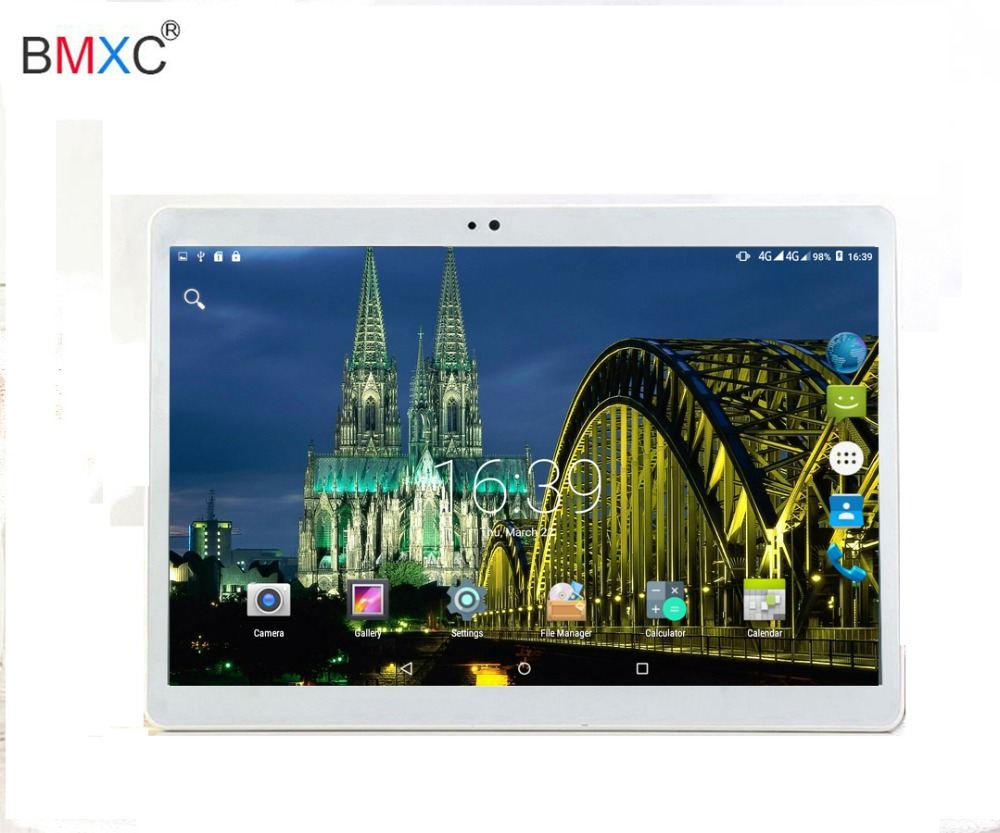 Android 7.0 3G tablet pc 10.1 inch 1280X800 HD IPS Screen Octa Core MTK 8752 ROM 32/64GB RAM 4gb tablet android 10 2018 new 10 1inch tablet pc android 7 0 4 gb ram 32gb rom cortex a7 octa core camera 5 0mp wi fi ips telefoon tabletten pc