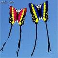 Envío gratis Outdoor Fun Sports nueva mariposa cometa con empuñadura y la línea Flying buena para el regalo
