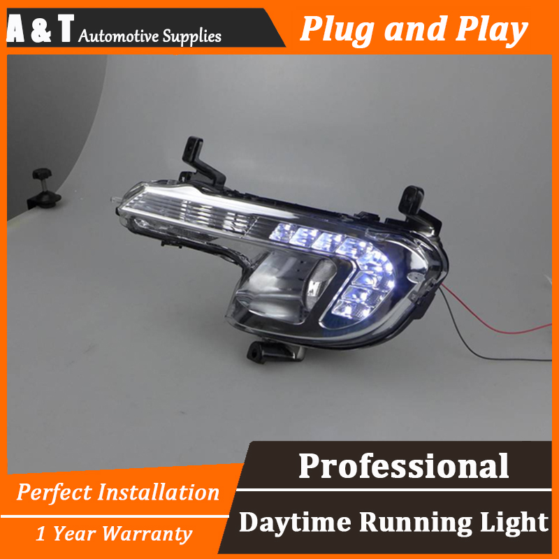 car styling For peugeo 508 LED DRL For 508 led daytime running light High brightness guide LED DRL