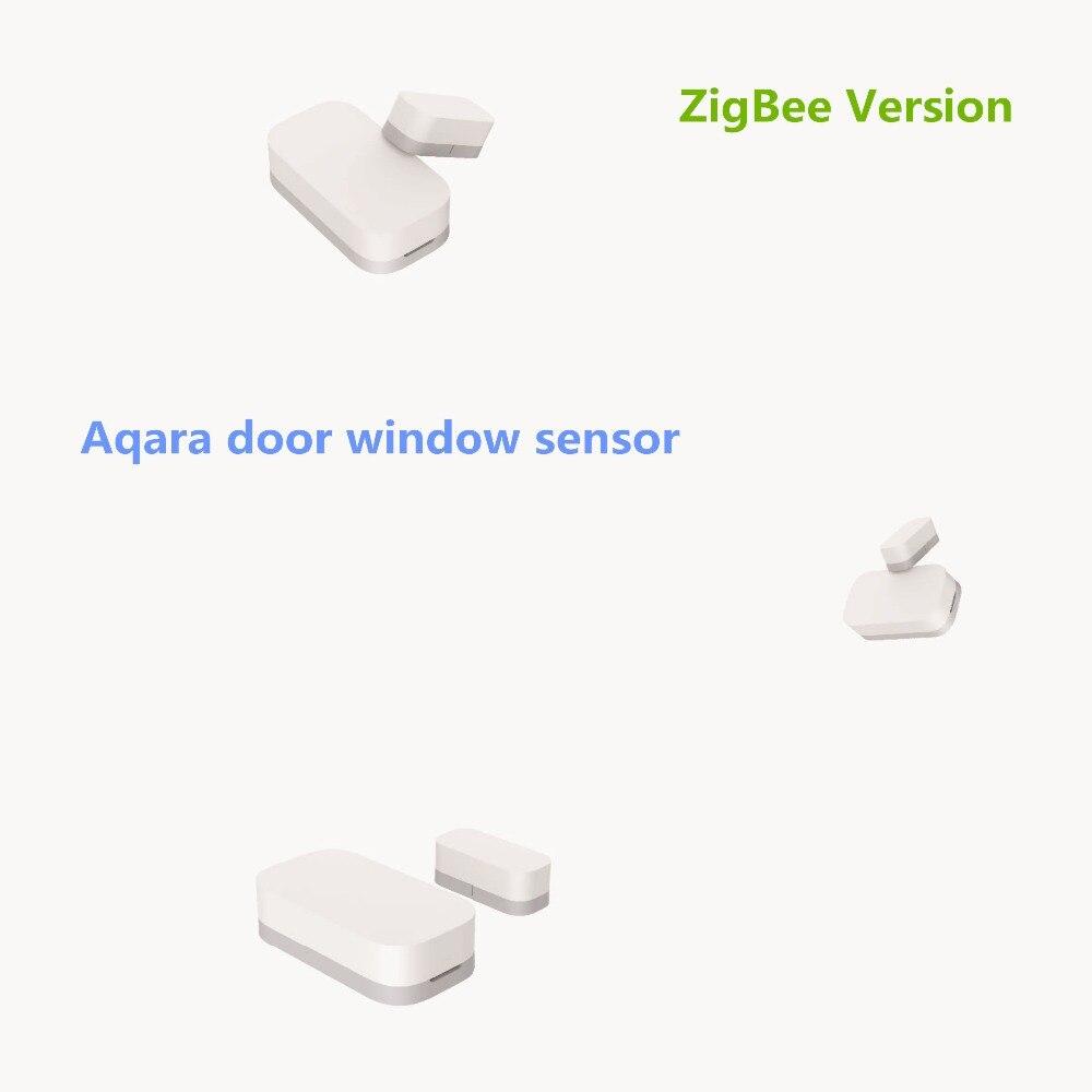 2019 Xiaomi Aqara Door Window Sensor Zigbee Wireless Connection Smart Mini door sensor Work Android IOS App control free ship