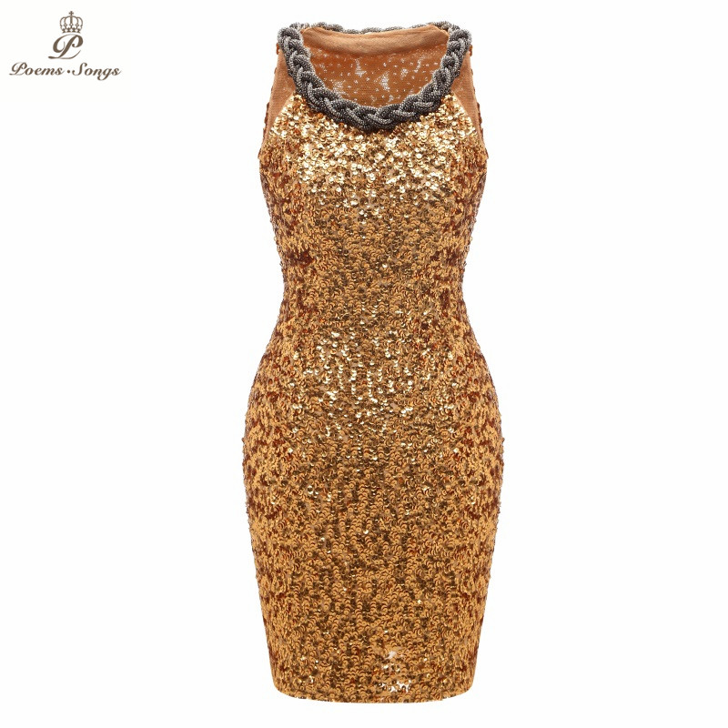 Poems Songs 2019 Personality Shiny   dress     Evening     Dress   prom gowns Formal Party   dress   vestido de festa robe cocktail short   dress