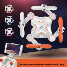 Micro Pocket Drone 4CH 6Axis Gyro Switchable Controller Mini wifi folding quadcopter RTF RC helicopter Mobile  transmission