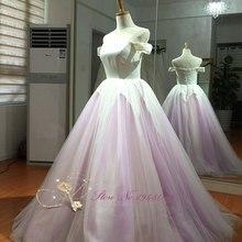JULIA KUI Ball Gown Sweep Train Floor-length Wedding Dress