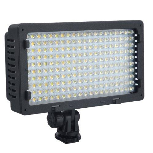 NanGuang CN-LUX2200 2200 LED Bi-Color 3200K-5400K LED Video Light For Canon Nikon Sony Camera DV Camcorder Photographic Lamp цена и фото