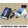 Segurança Laser luzes de nevoeiro para KIA Rio JB / Rio5 / Rio Xcite 2005 ~ 2011 / carro Anti Rear aviso lâmpada / Fog neve chuva Haze mau tempo