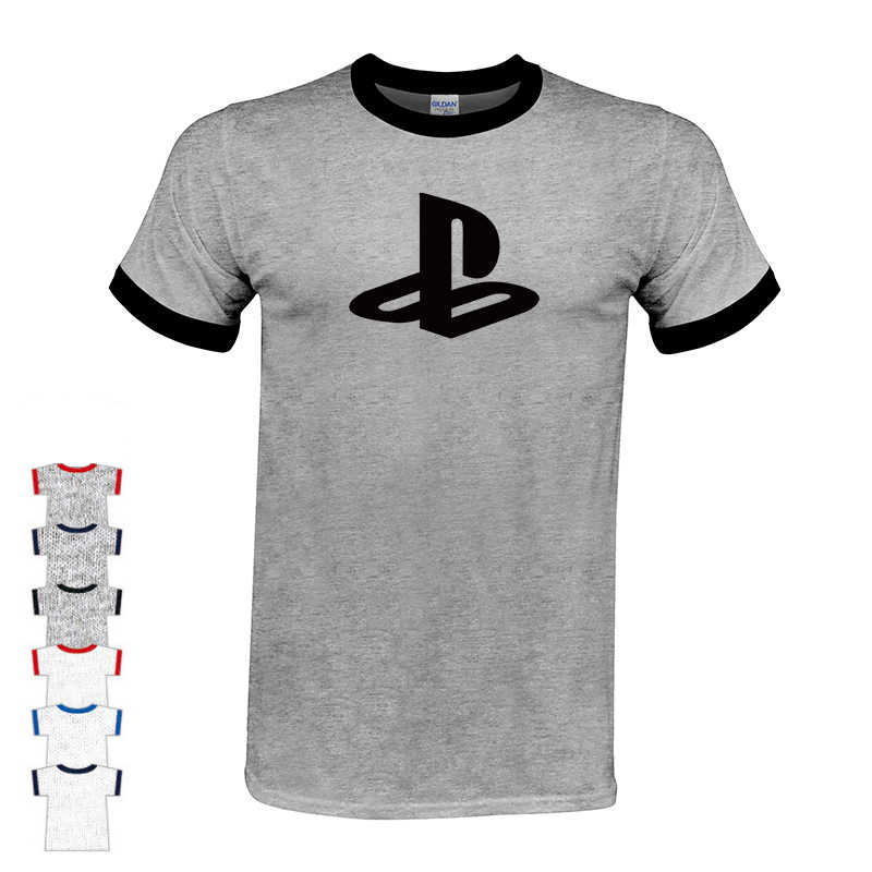 2019 Boutique T-shirt Japão camisa Do Logotipo T Jogo Xbox playstation PS T-shirt Dos Homens Streetwear camiseta Hip Hop Manga Curta tshirt