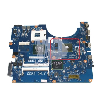 NOKOTION For Samsung NP-R530 R530 Laptop motherboard BA92-06345A BA92-06345B DDR3 PM45 Free CPU  GT310M Video Card