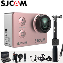 Action Camera 4K SJCAM SJ7 Star Sports DV WiFi Ultra HD 2.0″ Touch Screen 30m Waterproof Remote Ambarella A12S75 Original SJ Cam