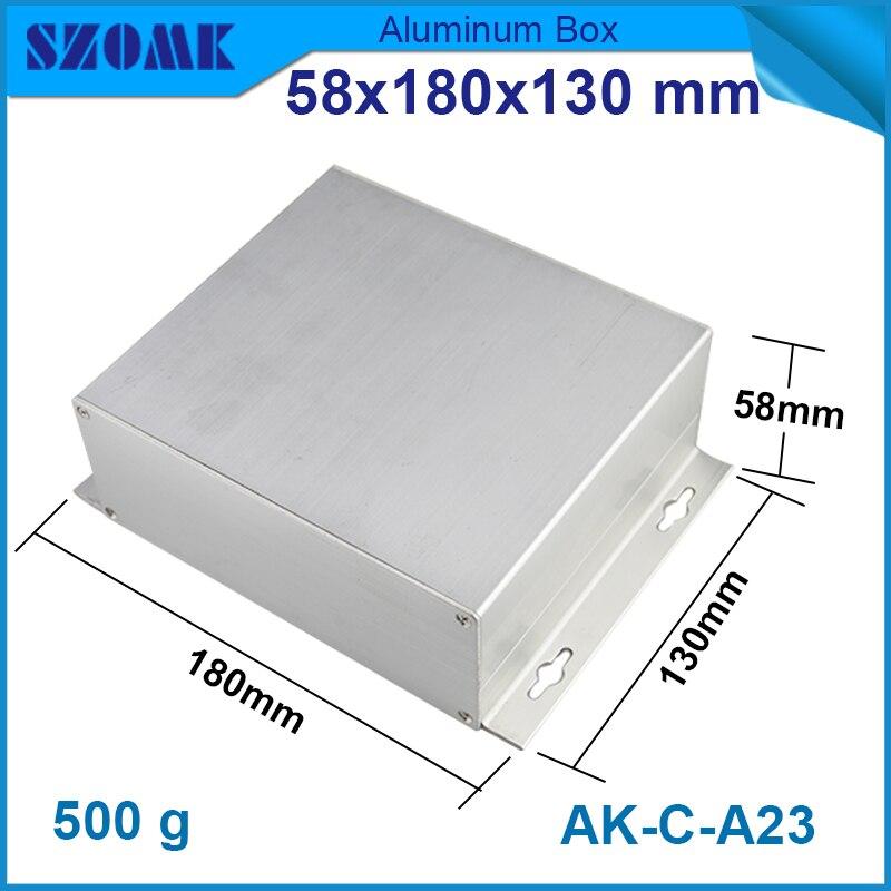 4 pcs/lot server cabinet aluminium pcb circuit board 58*180*130mm aluminium profile -led