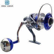 Easy Catch 13BB Ball Bearings Full Metal Body Fishing Reels China Aluminum Alloy Saltwater Fishing Spinning Reel MX4000-7000