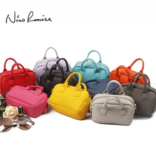 Lovely Candy Color Women Leather Mini Shoulder Phone Bag Crossbody Small Chain Purse For Girls Kids