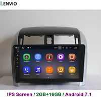 Lenvio 2G RAM Android 7,1 автомобиля радио gps навигации для Toyota Corolla 2007 2008 2009 2012 2011 2010 DVD плеер головное устройство ips