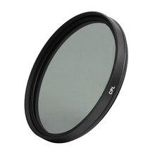 Lente de filtro de C PL CPL de polarización Circular de 77mm para cámara Digital DSLR SLR DV, videocámara