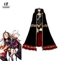 ROLECOS игра FGO Fate Grand заказ косплей костюм Ereshkigal пикантное нижнее белье с плащом для женщин костюм плащ для косплея