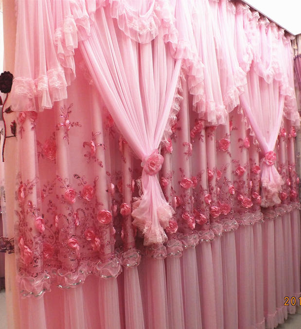 Wedding luxury curtains curtains for living room cortinas for Cortinas para living