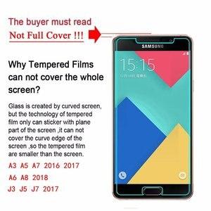 Image 3 - Ekran koruyucu temperli cam Samsung Galaxy A8 2018 A3 A5 A7 2017 J4 J6 A6 J1 J2 J3 J5 j7 2016 S3 S4 S5 S6 not 3 4 5Film