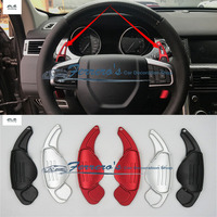 2pcs/lot For Land Rover Discovery 3 4 Freelander 2 Range Rover Evoque Jaguar XF XE Steering Wheel Shift Paddle Shifter Extension