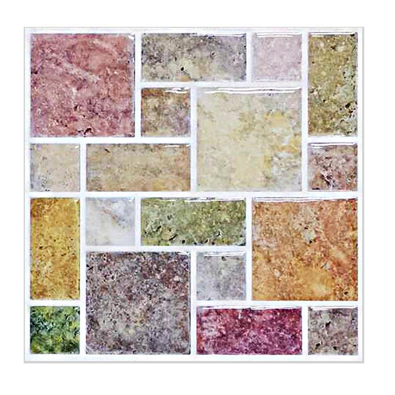 Carrelage Mural Vinyle 3d Resine Mosaique Nouvelle Tendance Carrelage De Cuisine Mural Auto Adhesif Decoratif Pour Salle De Bains Decoration De Maison Aliexpress