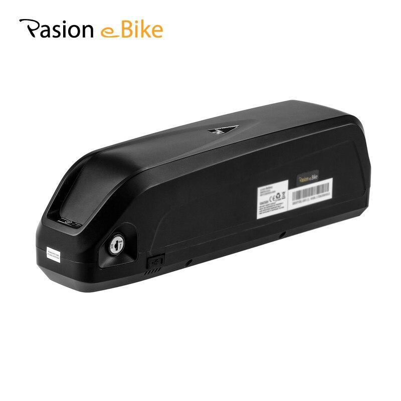 PASION E BIKE 52 V Batteria LG Cellulare Bicicletta Elettrica Li-Ion batteria HAILONG 52 V 12.8AH Ciclo Profondo Batteria Al Litio Con 2A caricatore
