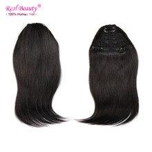 Straight Virgin Human Hair Bangs Fringe Clip In Hair Extensions Bang Fringe Clip In Bangs Human Hair Clip On Hair Bangs 25 g