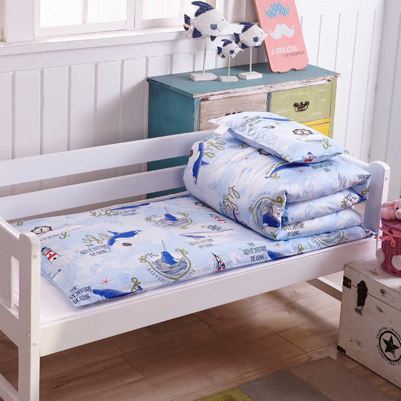 100 Cotton Cartoon 6 7pcs Baby Bedding Set Crib Cot Sets Bed Pers Sheet Pillowcase Duvet Mattress Pillow
