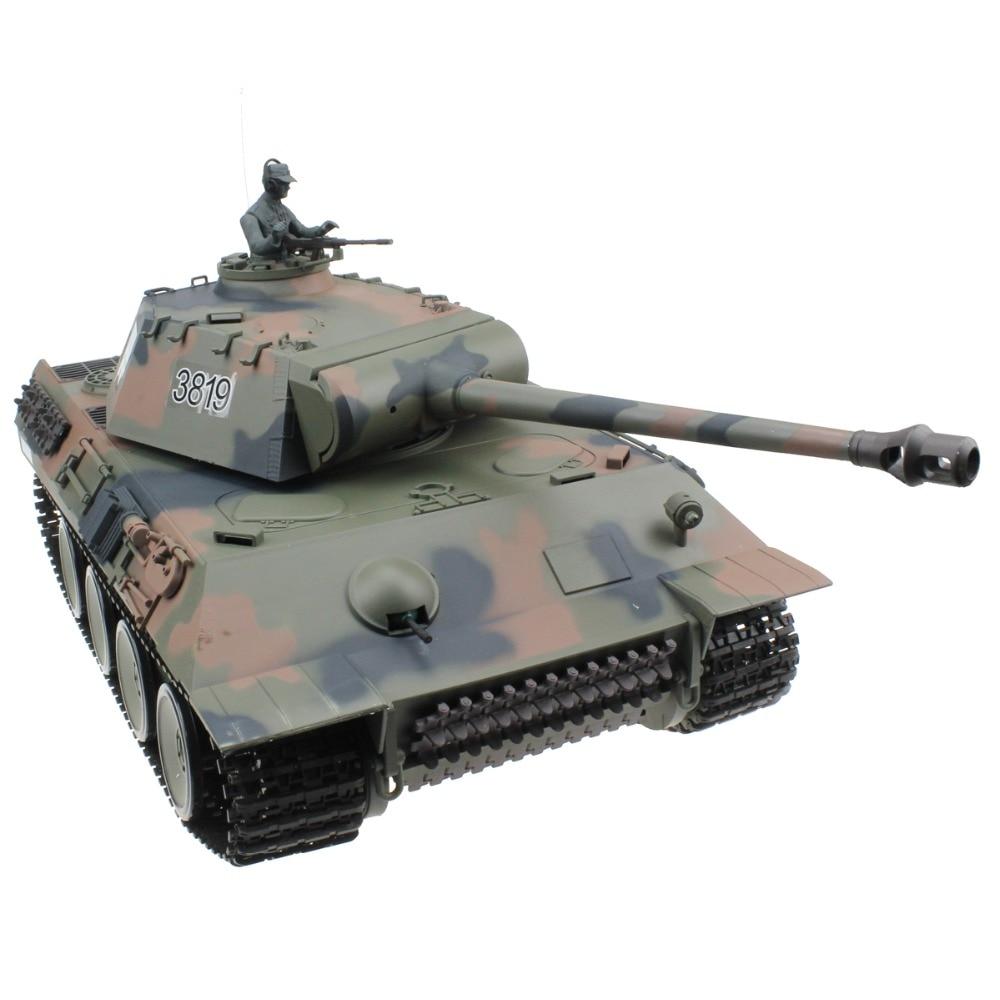 2 4G 1 16 German Pz V Panther Radio Remote Control Tank World War II RC