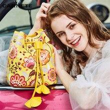 CARNETE Women Bags Crossbody Bucket Bag 2019 Fashion PU Gift Composite  Shoulder For bolsa feminina sac main femme