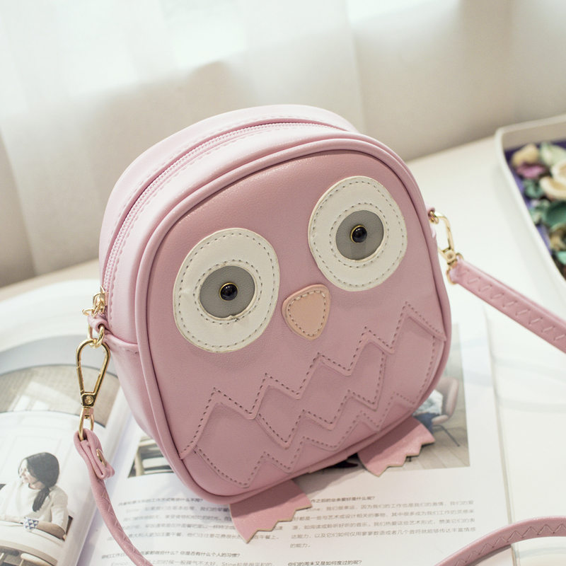 Ukqling Cute Purse Handbag Owl Women Messenger Bags For Summer Crossbody Shoulder Bag With Belt Strap Lady Clutch Purses Phone In Top Handle From