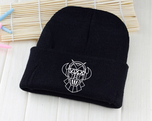 Kpop winter vixx hat unisex robot printing Skullies & Beanies for women men gorros
