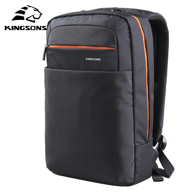 Kingsons Men Women Backpack 15.6 inch Laptop Computer Backpack High School College Students School Bags for Teenagers Boys Girls kingsons brand men women laptop backpack 15 6 inch notebook computer bag designer school backpacks for teenagers boys girls
